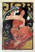 Vintage Art Deco Poster Job Cigarettes
